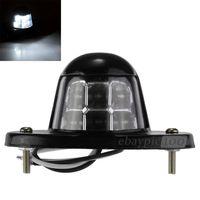 6PCS/LOT License Number Plate 6 LED Light Lamp White for Car Van Trailer Truck