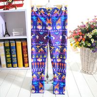 1053 New worlds  Digital Printing wholesale New 2014 School Child Legging Sports Pant Children Clothing  Baby Girl Pants