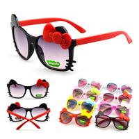 2pcs/lot Cat Eye Sunglasses Kids Glasses Girls Eyeglass Eyewear Accessories Oculos De Grau KJ61