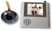 "Free shipping 2.8"" display digital door bell peephole viewer 3X Digital Zoom+ Destruction Alarm+resolution 300,000 pixels"