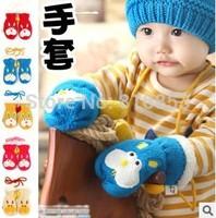 1Pcs Retail Children Winter Gloves Baby Gloves Warm Gloves Lovely Rabbit Style Mittens For Kids Free Shipping #1110