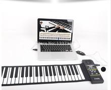 88 teclas rolo digital- up dobrável borracha macia teclado midi pn88s sem colunas, piano, órgão eletrônico flexível(China (Mainland))