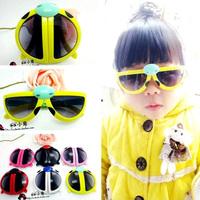 Beatles Folding Kids Sunglasses Outdoor Sports Eyewear Kids Glasses Girls Brand Gafas Lentes De Sol KJ58