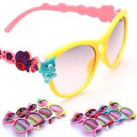 Cartoon Butterfly Sunglasses Kids Glasses Girls Sports Kid Eyewear Accessories Oculos De Sol KJ59