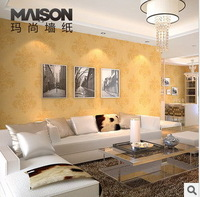 PVC vogue to live in high-end luxury foam wallpaper Bedroom, sitting dining-room wall paper 10 m * 53 cm luxury home wallpaper