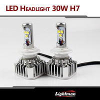 NEW  ARRIVAL!!! 2PCS Plug & Play H7 CREE SMD LED 30W 2800LM 6000K XENON WHITE BULB REPLACEMENT DRL DAYTIME DRIVING FOG HEADLIGHT