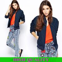 New 2014 Fashion Winter Jacket Women Winter Coat Long Sleeve Jackets Desigual Clothes Zipper Short Casual Overcoat Plus Size