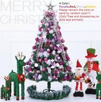 150cm/4.92feet christmas tree bundle mixed quality encryption christmas tree decoration Christmas decoration 10/24/008