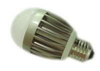 E27 high power led bulb,7*1W;360lm,warm white