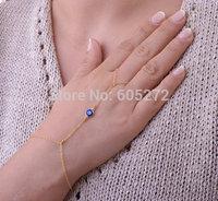 Evil eye charms, sexy alloy finger bracelets