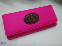 Free Shipping Women's Canvas Coin Purses Clutch Wallets Three Folds Wallets Top Quality