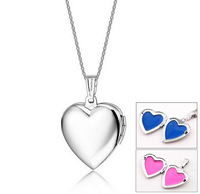 New Personalized Necklace Engraved Heart Pendant Engravable Stainless Steel Creative Gift for Her