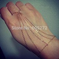 sexy alloy finger bracelets bride jewelry