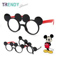 Kids Cartoon Eyeglasses Frames Eyewear Accessories Glass Frame for Child Oculos KJ69