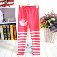 Wholesale1057 Alice in wonderland Digital Printing New 2014 School Child Legging Sports Pant Children Clothing  Baby Girl Pants