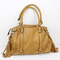 "H028(orange),Sale New 2014 Women leather handbags ,12 different,size:14 x 7.5 x 11""(L*W*H),1pcs/opp bag,free shipping"
