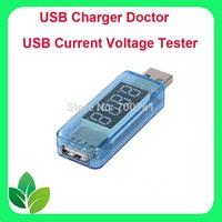 50pcs/lot Mini USB Mobile Power Tester meter Current Voltage Charging Detector voltmeter ammter 3.5-7V for univeral phone ,pc