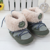 2014 Winter Warm warm boots /Non-slip soft bottom toddler shoes First Walkers baby Shoes N0101 baby boys shoes