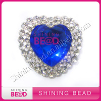 fashion colorful heart sea brooches for women