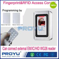 New RFID with Fingerprint Access Control Kit Include Fingerprint Access Control+Remote Button+EM Keyfob PY-F1-EM