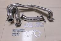Stainless steel exhaust header for Subaru Impreza WRX/STi 02-06