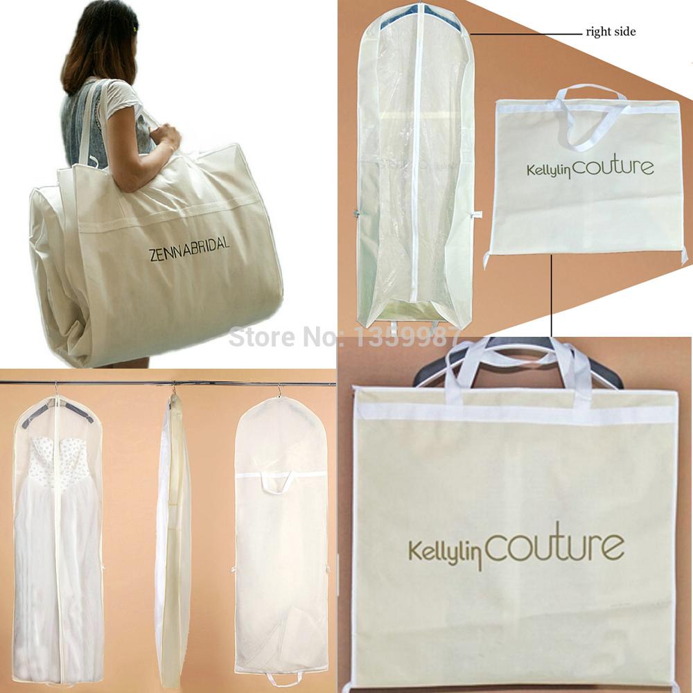 Frete grátis! Tecido não tecido de qualidade 160cm*60*15cm vestidos de noiva vestuário poeira cobrir sacos(China (Mainland))