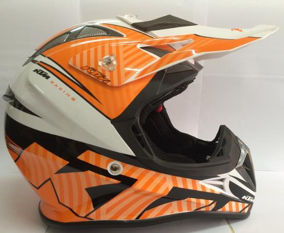 KTM Helmet New Arrival professional motor cross helmet DOT Approved motorcycle helmet(Chi