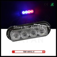20 pcs free shipping via fedex + Red/Blue/Amber/White color Liner type or tir type led dash lights TBF-4691L3