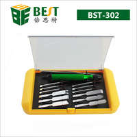 14 in 1 Precision Screwdriver Disassemble Repair Tools Kit for iPhone Mobile Phone Laptop BEST-302