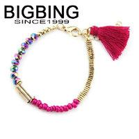 BigBing jewelry Fashion tassel beads  Bracelet  fashion jewelry good quality nickel free Free shipping! B536