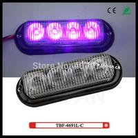 2 pcs free shipping via fedex + purple color only led surface dash lights TBF-4691L3