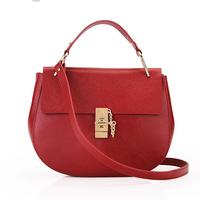 women fashion vintage genuine leather designer inspired handbags ,cow leather vintage satchels shoulder bag  8748