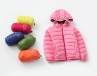Free DHL EMS hot sale winter girls pure color coats children fashion hoodies tops kids cotton-padded clothes JL-1268