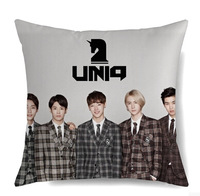 KPOP New Hot UNIQ Comfortable Two-Sided 40*40cm Cotton Pillow Free Shipping DPW490