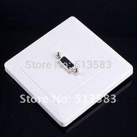 Free shipping 15 pin  VGA Wall Plate Coupler Socket Panel