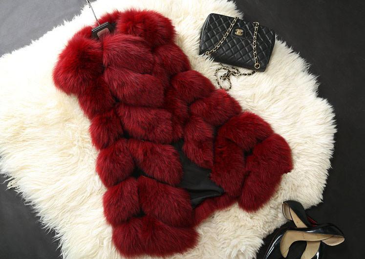 Winter Coat Women Fashion Import Overcoat Whole Peel Faux Fox Fur Vest High-Grade Cappa Fur Coat Leisure Shitsuke Women Coat(China (Mainland))