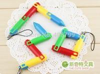 Folding ballpoint pen Cartoon ballpen Novelty Ballpen Gift for Kids Keychain Ballpen + Free Shipping by DHL/Fedex 800pcs/lot