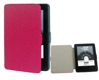 PU Leather case for new kindle 6inch side open protective cover Case ultra slim for new kindle free shiipping