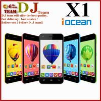 Original Iocean X1 MTK6582 Quad Core 1.3ghz Android 4.4 Phone 1GB RAM 8GB ROM 4.5inch 960*540 bluetooth wifi WCDMA OTG