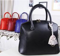 on sales women fashion vintage genuine leather designer handbags business bags 6097