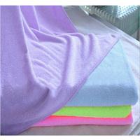 New Swimwear Absorbent Microfiber Fleece Shower Spa Body Wrap Towel 5 Color