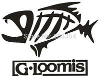 G Loomis Skeleton Tribal Fish Vinyl Decal Sticker Kayak Fishing Car Truck Boat Window Decal Car Styling