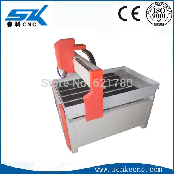 Custom fabrication for SKM-6090 acrylic engraving cnc router(China (Mainland))