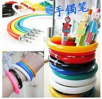 3pcs/lot Cute fashion tide creative Novelty ballpoint pen stationery bracelet pen Ballpoint Pens Korean Stationery Free shipping