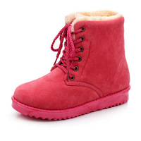 2014 HOT FASHION ! 15-19cm Boot height Women's Snow boots for Lady winter boot & red/green/yellow women's fashion shoes