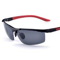 oculos de sol masculino factory wholesale outdoor Polarized Sunglasses men's new magnesium drive mirror