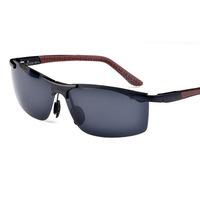 Polarized Sunglasses men's new aluminum magnesium driving glasses fashion oculos de sol masculino wholesale