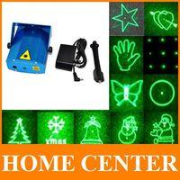 20in1 Hot sell Mini Blue Projector R&G DJ Disco Stage Light  Xmas Party KTV Laser Lighting Show EU AU US plug