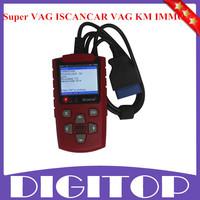 2014 Super VAG ISCANCAR VAG KM IMMO OBD2 Code Scanner Best Buy For VW/AUDI Update Online English