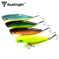 SeaKnight Brand 5pcs Hard Plastic Artificial Fishing Lure Set Wobbler Poper Style Sea/Fresh Fishing With Two VMC Hooks